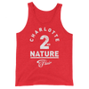 "Charlotte Flair ""2nd Nature"" Unisex Tank Top - wweretro"