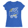 "Sasha Banks ""Legit Boss Shades"" Women's Tri-Blend T-Shirt"