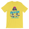 """Macho Man"" Randy Savage ""Flex"" Unisex T-Shirt - wweretro"