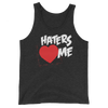 "The Miz ""Haters Love Me"" Unisex Tri-Blend Tank Top - wweretro"