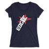 "Edge ""Horns"" Women's Tri-Blend T-shirt - wweretro"