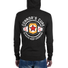 "Connor's Cure 2018 ""Always Keep Crushing"" Unisex Lightweight Zip Hoodie - wweretro"