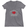 "Shawn Michaels ""Heartbreak Kid"" Women's Deep V-Neck T-Shirt"