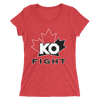 "Kevin Owens ""KO FIGHT"" Special Edition Women's' Tri-Blend T-shirt - wweretro"