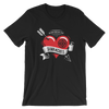 "Shawn Michaels ""Heart & Arrow"" Unisex T-Shirt - wweretro"
