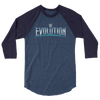 WWE Evolution Logo 3/4 sleeve Raglan Shirt