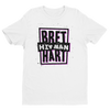 "Bret Hart ""Hitman"" Abstract Logo T-shirt - wweretro"