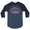 "Shawn Michaels ""Heartbreak Kid"" 3/4 sleeve Raglan T-Shirt"