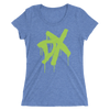 "D-Generation X ""Spraypaint"" Women's Tri-Blend T-Shirt - wweretro"