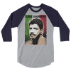 "Eddie Guerrero ""Photo"" 3/4 Sleeve Raglan T-Shirt - wweretro"