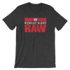 Monday Night RAW Logo Unisex T-Shirt - wweretro