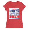 "Drew Gulak ""Election"" Women's Tri-Blend T-Shirt - wweretro"