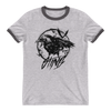 "Sting ""Crows"" Unisex Ringer T-Shirt - wweretro"