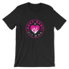 "Bret Hart ""Flaming Heart"" T-Shirt - wweretro"