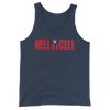 Hell in a Cell Logo Unisex Tank Top - wweretro