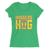 "Bayley ""Huggers Gonna Hug"" Women's Tri-Blend T-Shirt - wweretro"