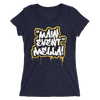 "Carmella ""Main Event Mella!"" Women's Tri-Blend T-shirt - wweretro"