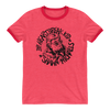 "Shawn Michaels ""Heartbreak Kid Sketch"" Unisex Ringer T-Shirt - wweretro"