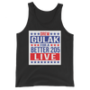 "Drew Gulak ""Election"" Unisex Tank Top - wweretro"