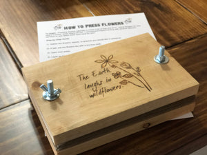 The Earth Laughs in Wildflowers Flower Press