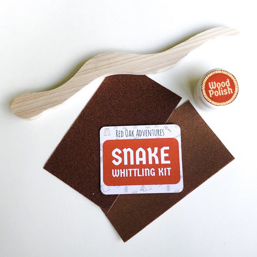 Snake Whittling Kit