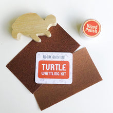 Load image into Gallery viewer, Turtle Whittling Kit