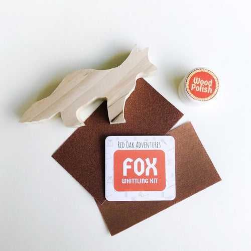 Fox Whittling Kit