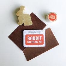 Load image into Gallery viewer, Rabbit Whittling Kit