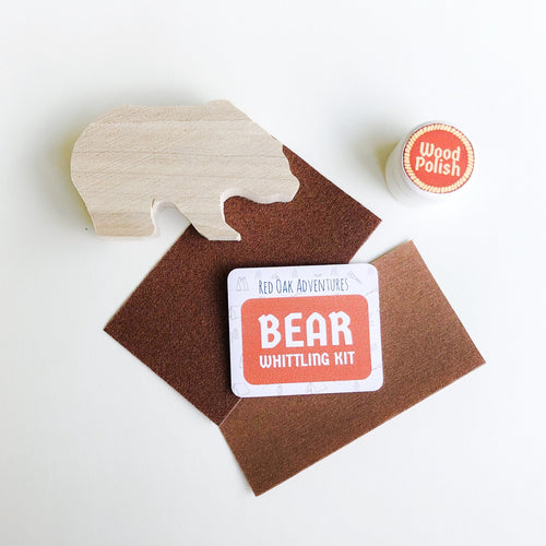 Bear Whittling Kit
