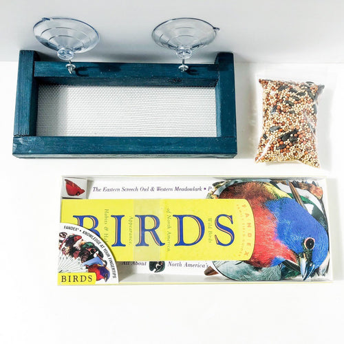 Window Bird Feeder Set
