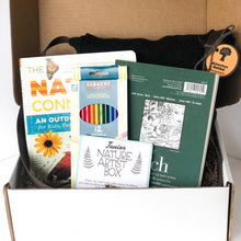 Load image into Gallery viewer, Junior Nature Artist Adventure Box - DIY Activity Kit