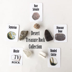 Desert Treasure Rock Collection