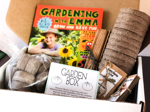 Junior Garden Adventure Box - Spring, Summer, and Fall Container Garden