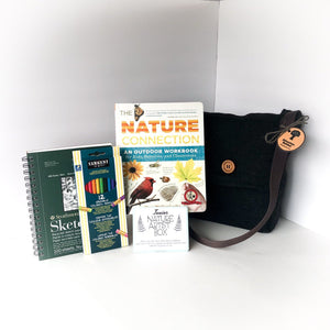 Junior Nature Artist Adventure Box - DIY Activity Kit