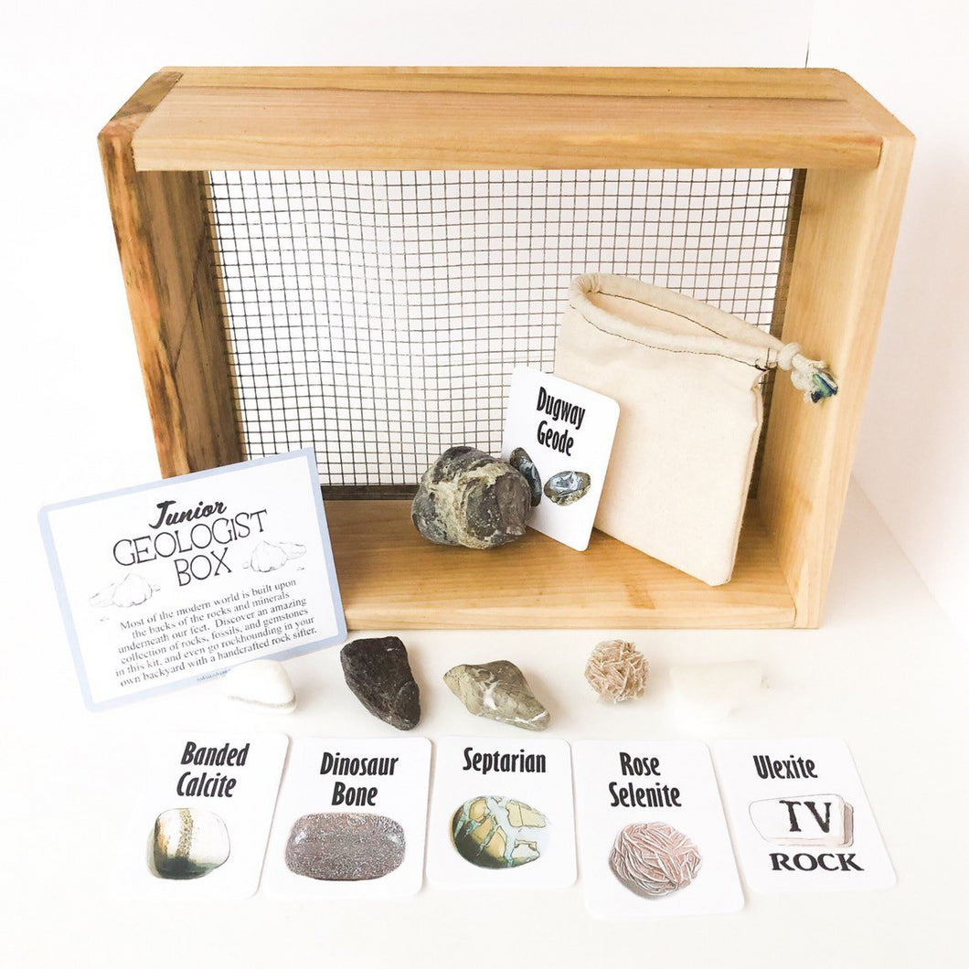 Junior Geologist Adventure Box - Desert Treasure Edition
