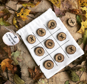 Sassafras Tic Tac Toe Travel and Camping Game