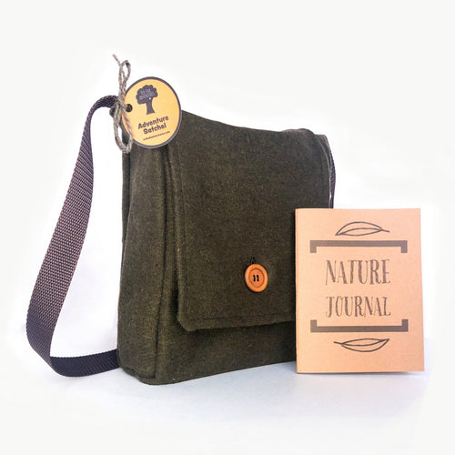 Adventure Satchel with Nature Journal