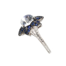 Load image into Gallery viewer, Blue Moonstone Ring