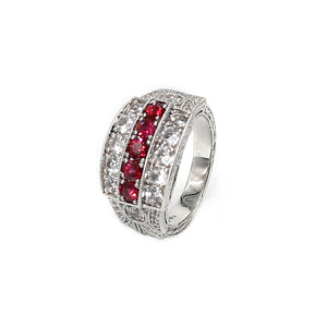 Red Spinel Ring