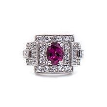 Load image into Gallery viewer, Rhodolite Ring