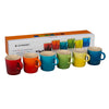 Set 6 Tazas 100 ml London  Le Creuset