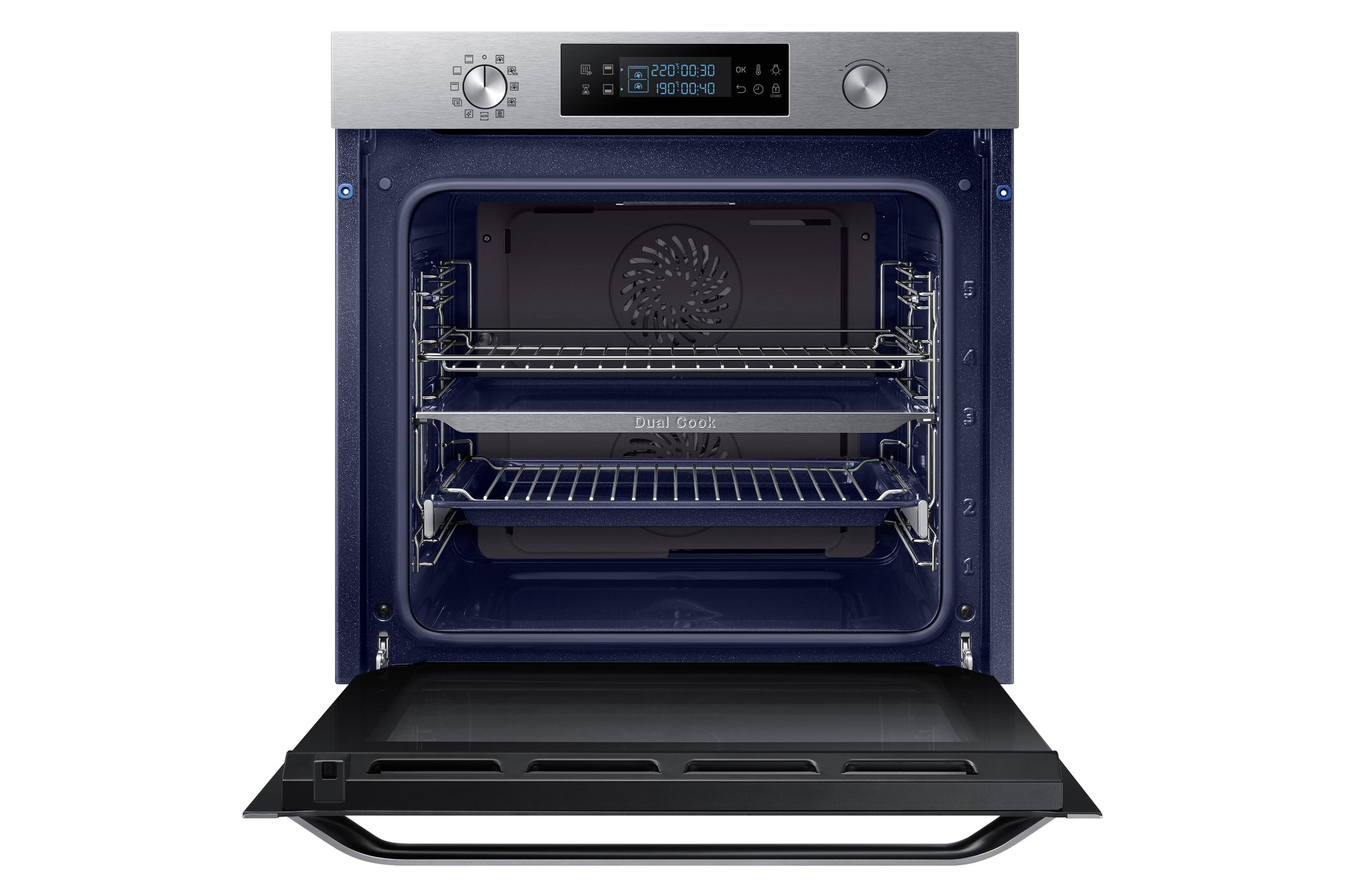 HORNO INOX DUAL COOK NV75K5541RS SAMSUNG