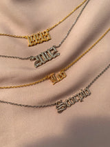 BLING BIRTH YEAR NECKLACE