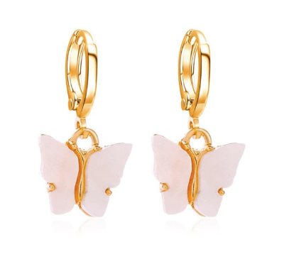 GOLD PLATED BUTTERFLY SET