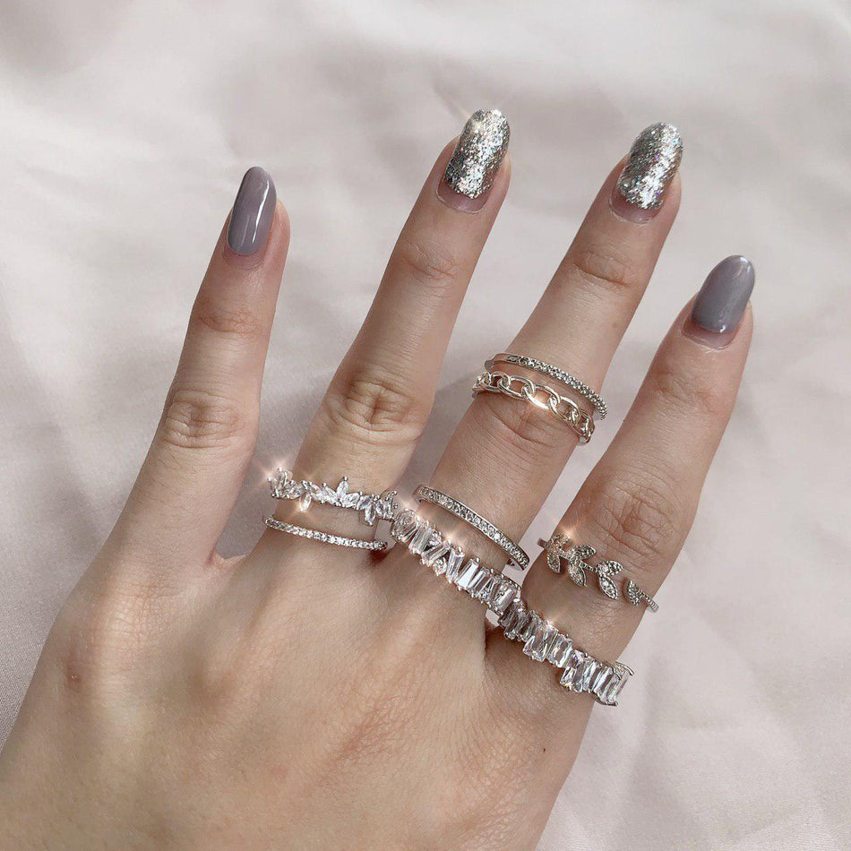 AMELIE DOUBLE BAND RING
