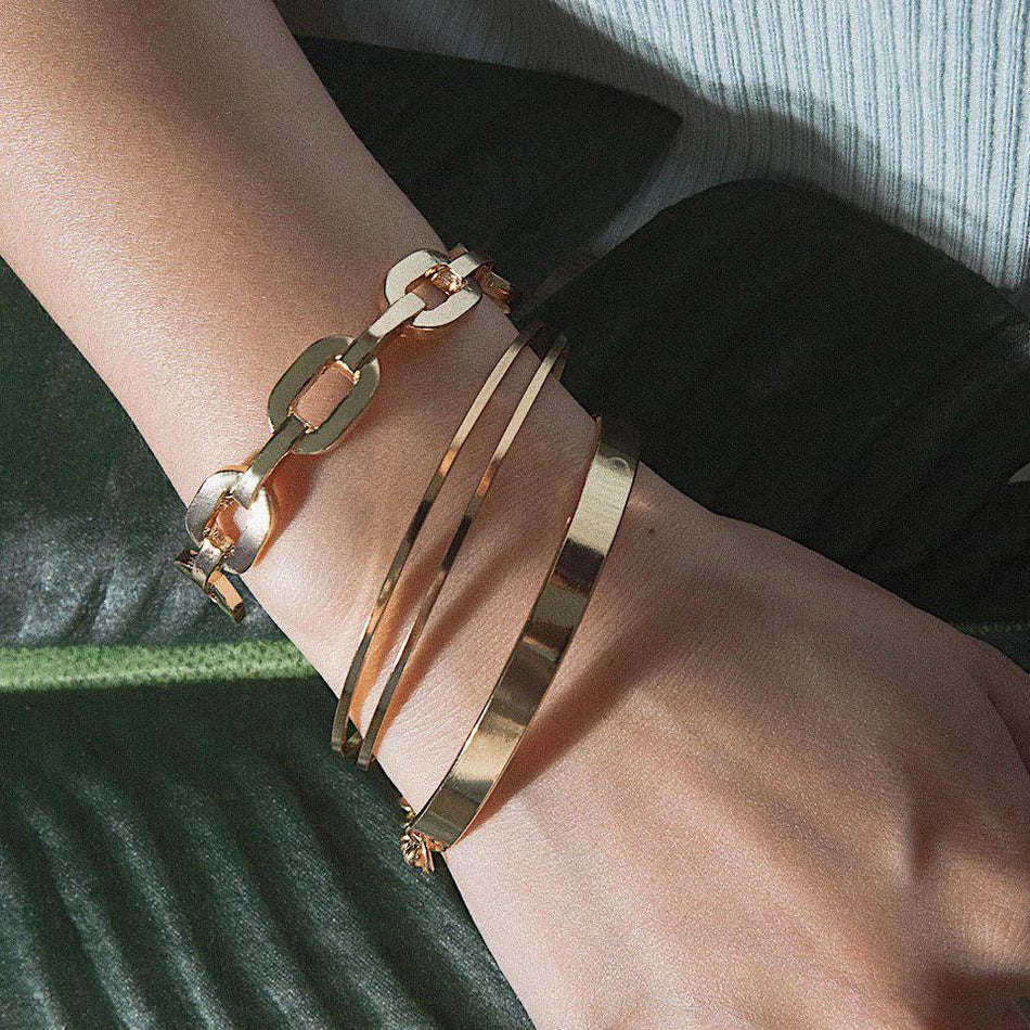 CHUNKY BANGLE SET