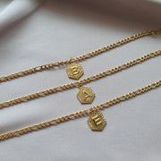INITIALS ANKLET