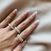 Margot Pearl Ring Set