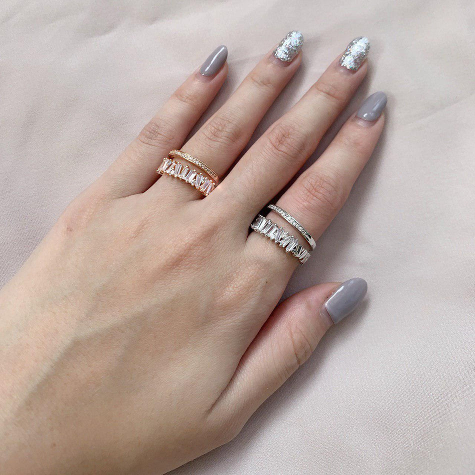 SIOBHAN DOUBLE BAND RING
