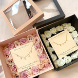 CUSTOM JEWELRY FLOWER GIFT BOX